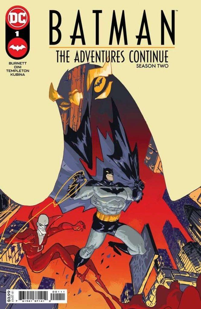 Portada de Batman: The Adventures Continue Season Two Nº 1