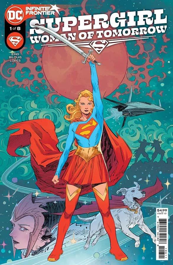 Portada de Supergirl: Woman of Tomorrow Nº 1