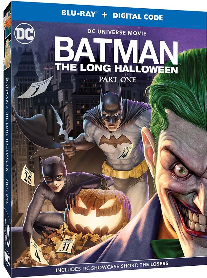 Carátula de Batman: El Largo Halloween Parte 1