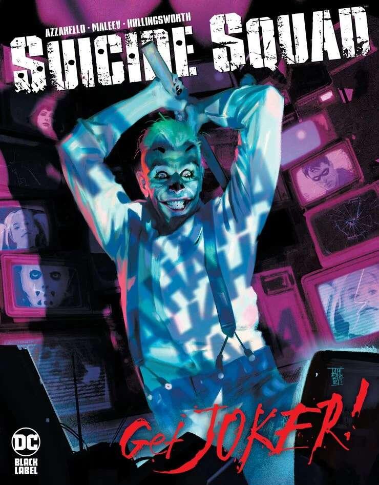 Portada de Suicide Squad: Get Joker! Nº 1
