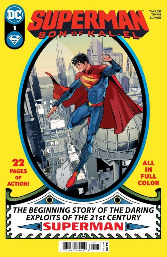 Portada de Superman: Son of Kal-El Nº 1