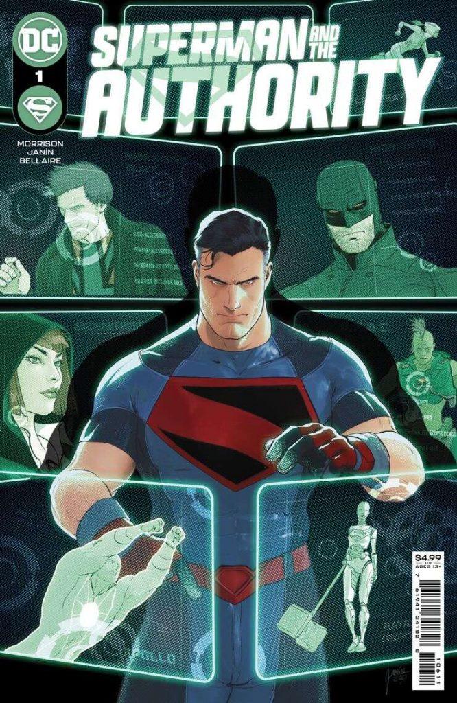 Portada de Superman and the Authority Nº 1