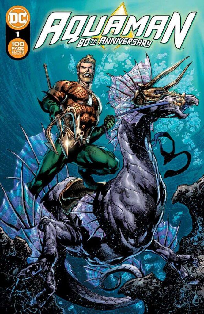 Portada de Aquaman 80th Anniversary 100-Page Super Spectacular