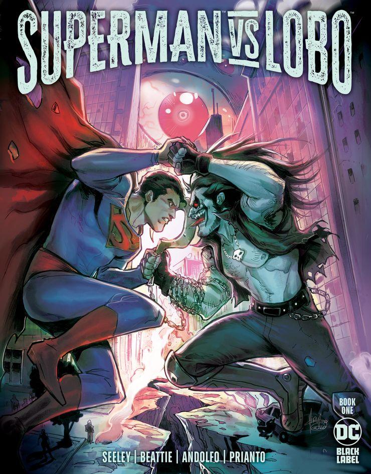 Portada de Superman Vs. Lobo Nº 1