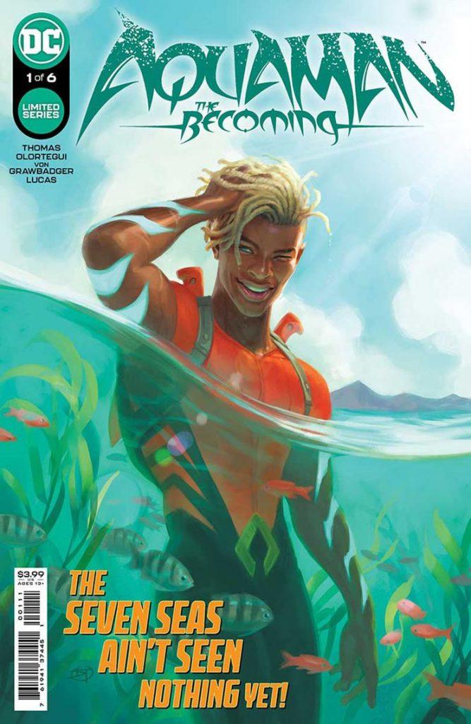 Portada de Aquaman: The Becoming Nº 1