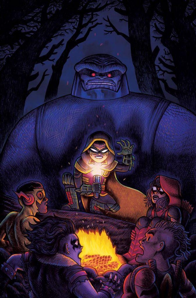 Portada de Are You Afraid of Darkseid?