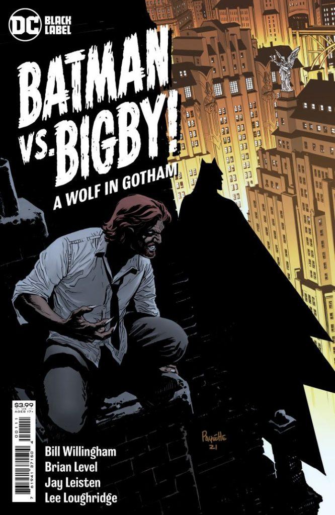 Portada de Batman vs. Bigby! A Wolf in Gotham Nº 1