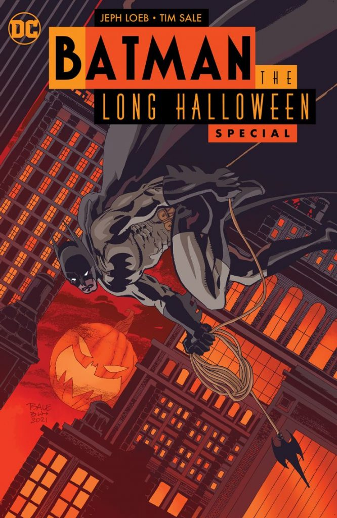 Portada de Batman: El Largo Halloween Especial