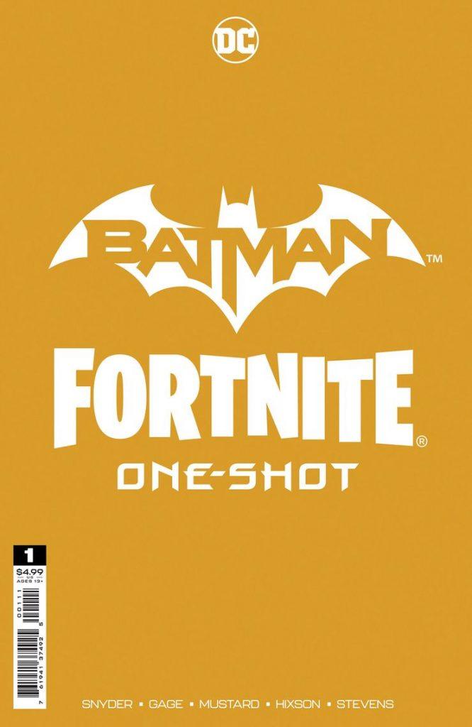 Portada de Batman-Fortnite One-Shot Nº 1