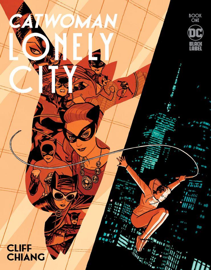 Portada de Catwoman: Lonely City Nº 1
