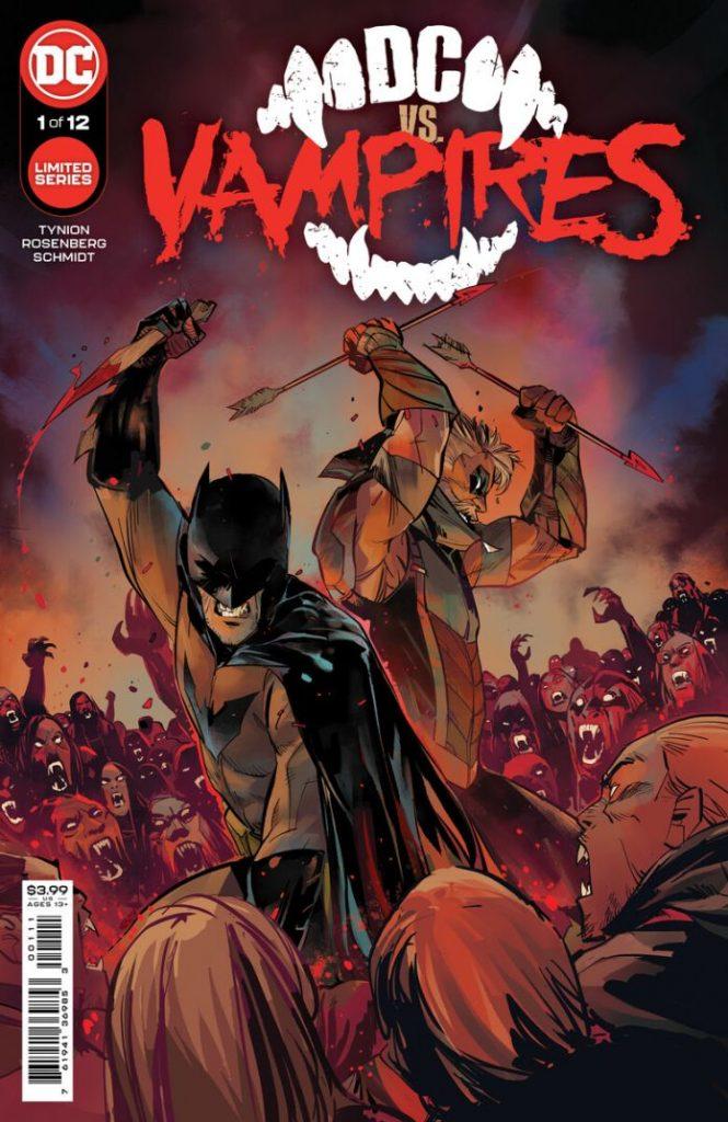 Portada de DC vs. Vampires Nº 1