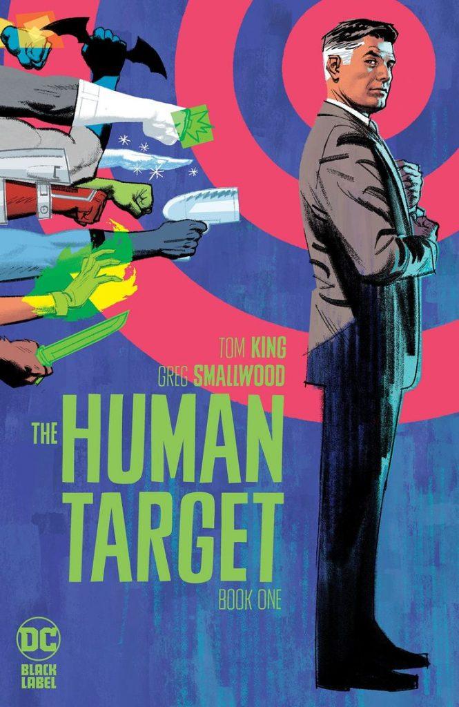 Portada de Human Target Nº 1