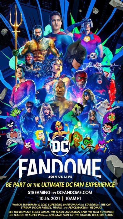 Póster de la DC FanDome 2021