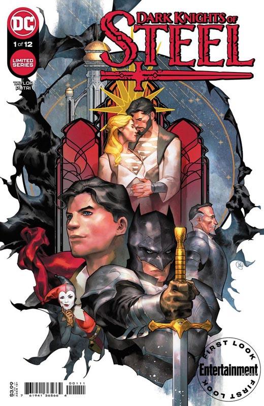 Portada de Dark Knights of Steel Nº 1