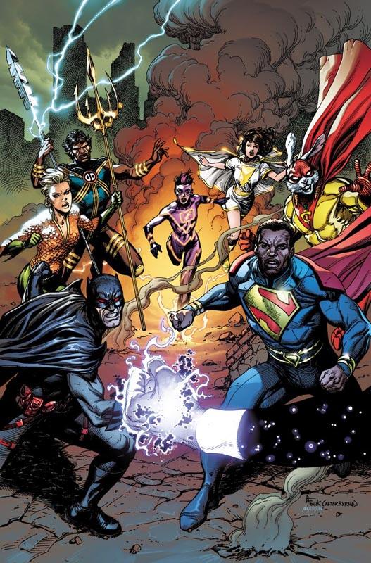 Portada de Justice League Incarnate Nº 1