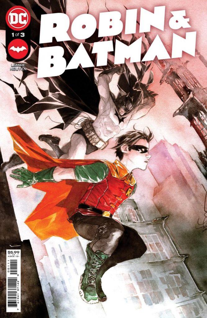 Portada de Robin and Batman Nº 1