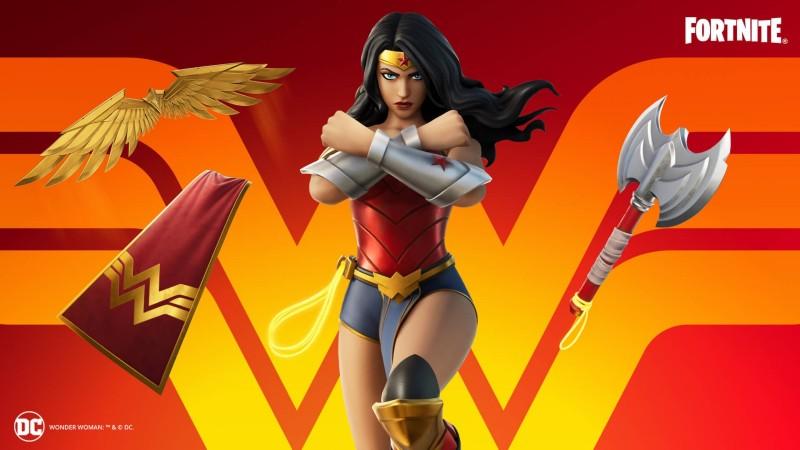 Wonder Woman en Fortnite