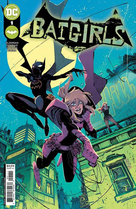 Portada de Batgirls Nº 1