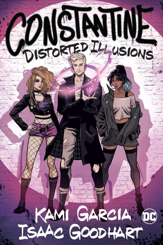 Portada deConstantine: Distorted Illusions