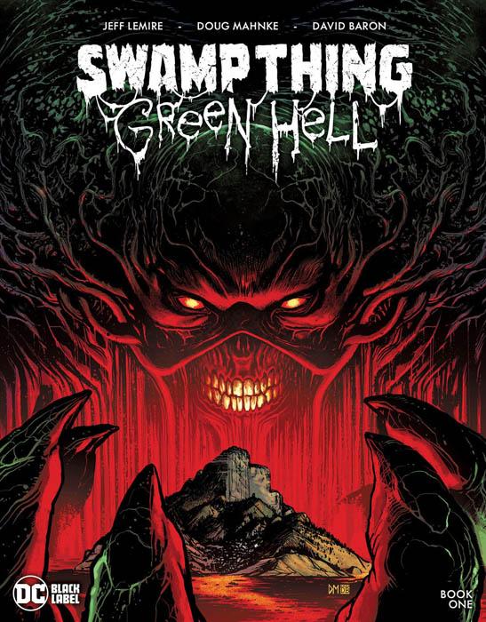 Portada de Swamp Thing Green Hell Nº 1