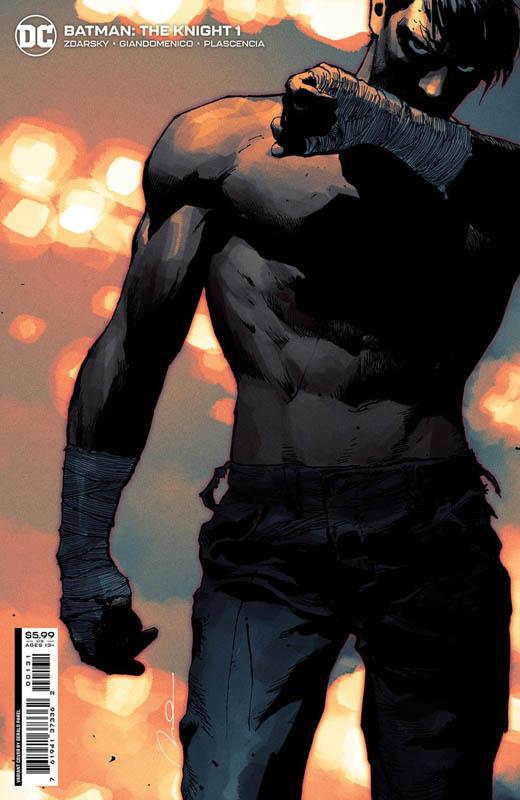 Portada de Batman: The Knight Nº 1